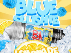 Blue Slushie Lemonade E-juice by Keep It 100