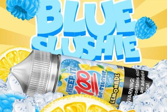 Blue Slushie Lemonade E-juice by Keep It 100