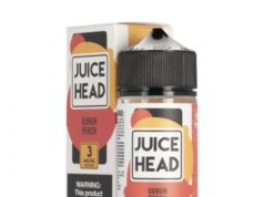 Guava Peach 100ml Ejuice by Juice Head Review